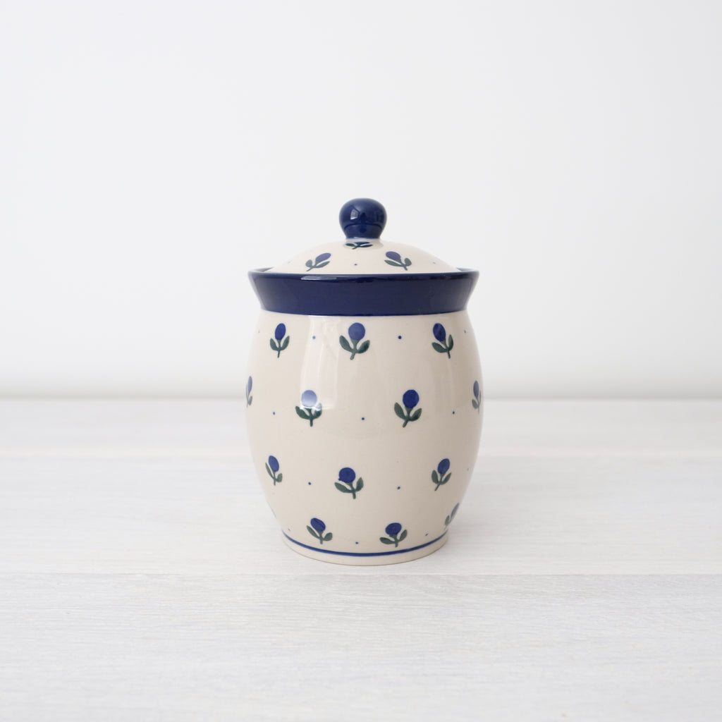 Handmade Ceramic Jar With Lid - | Art Of Pottery