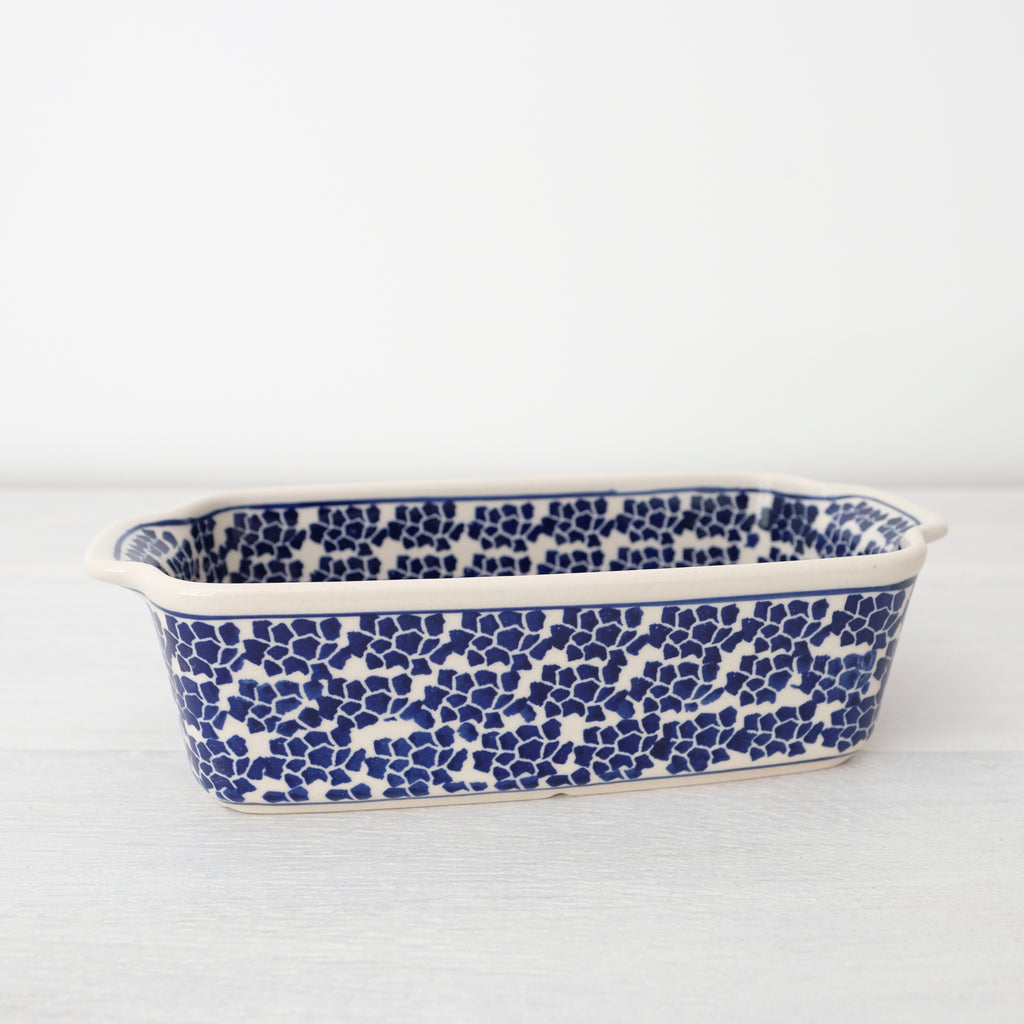 Handmade Stoneware Loaf Pan | Art Of Pottery
