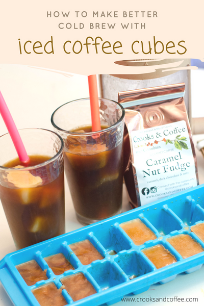 How to Make Better Cold Brew with Iced Coffee Cubes