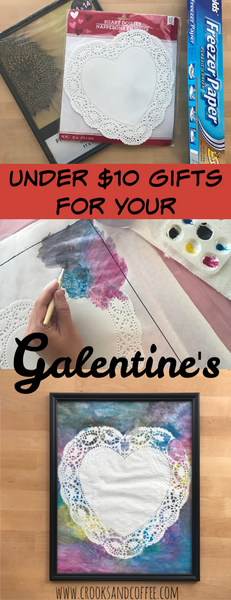 Don't give up your coffee money! Make handmade Galentine's gifts for under $10