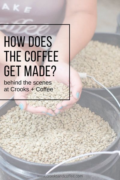 How Does the Coffee get Made? Behind the Scenes