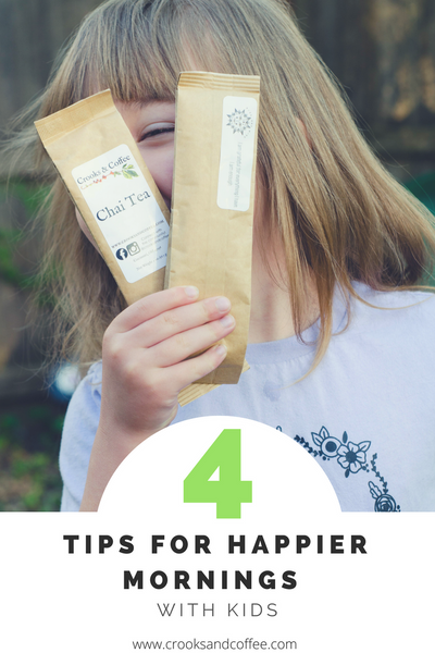 4 Tips for Happier Mornings with Kids + a giveaway!