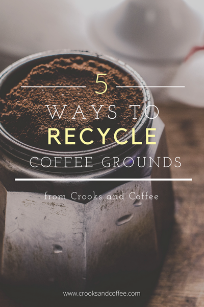5 Ways to Recycle Coffee Grounds