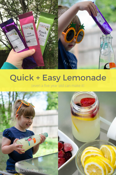 lemonade easy recipe quick grab and go lemonade