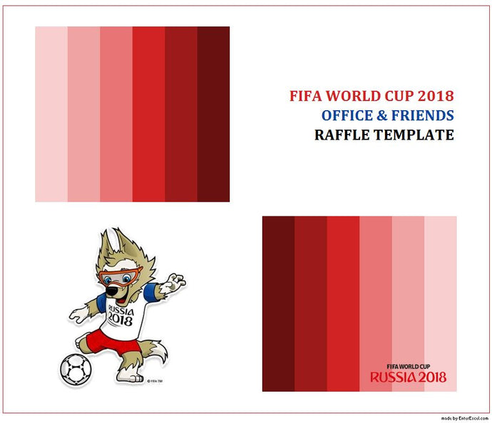 FIFA World Cup 2018 Prediction Game Template