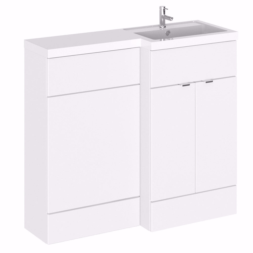 Full Depth 1000mm Combination WC Unit & Basin