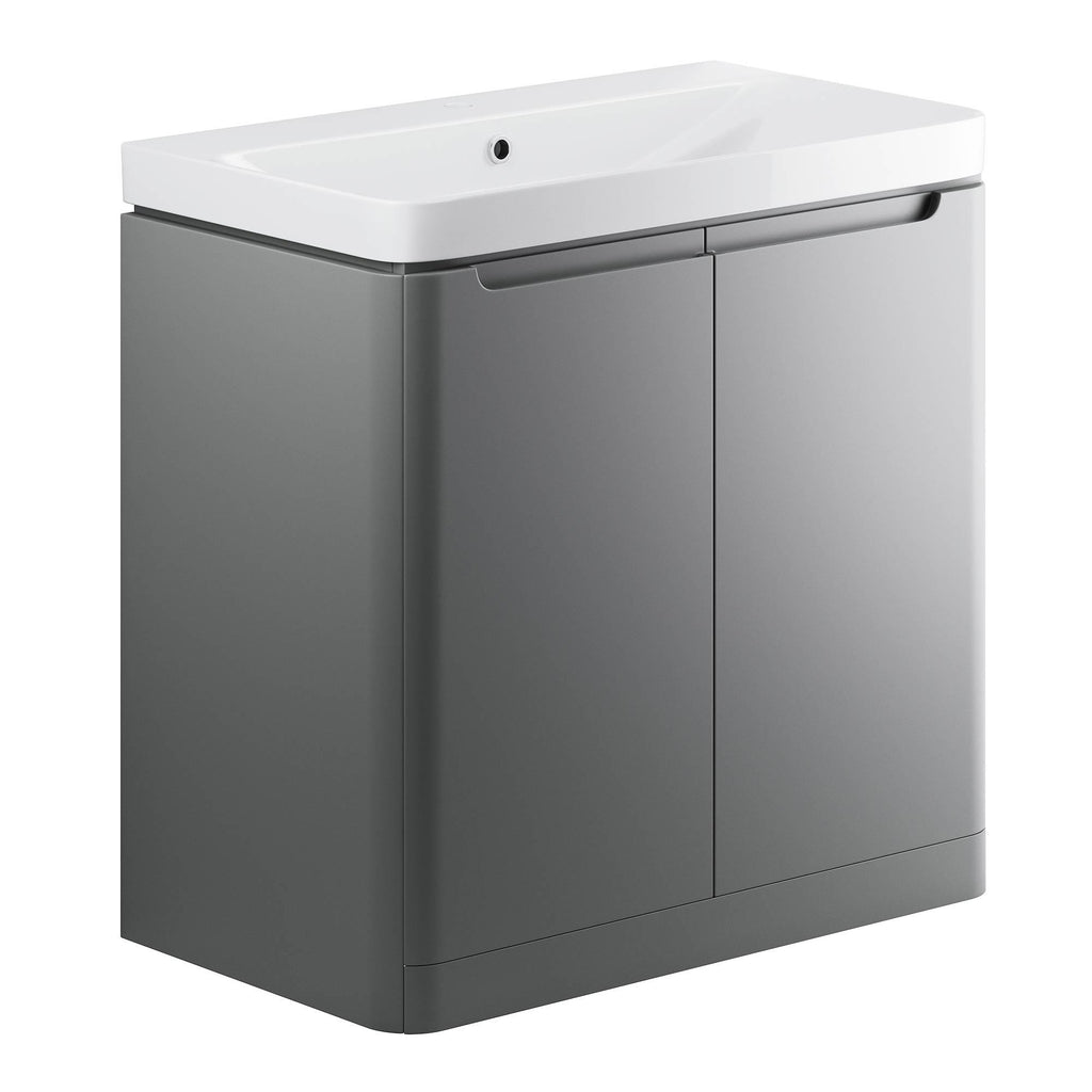 Lambra 600mm Floor Standing Unit & Basin