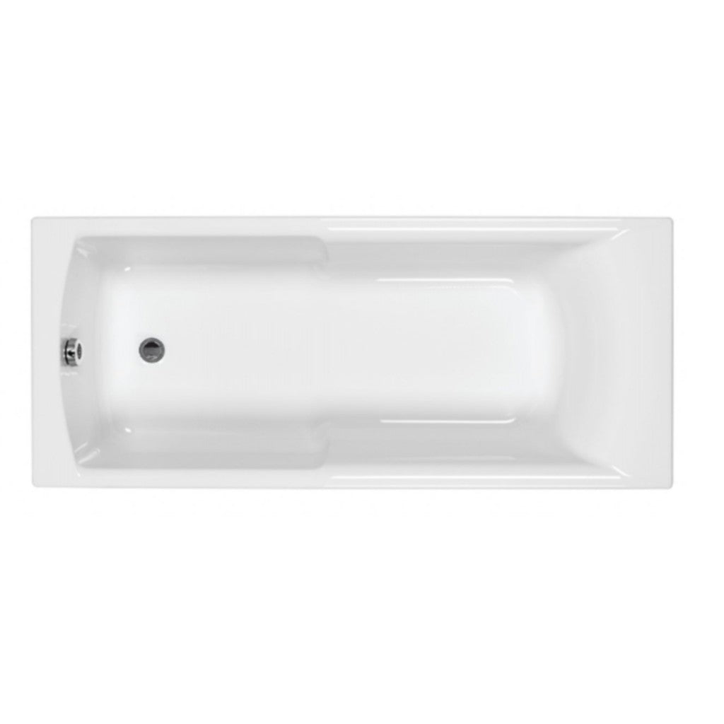 Eco Matrix Single Ended Bath, Carronite - 1500, 1600, 1700mm