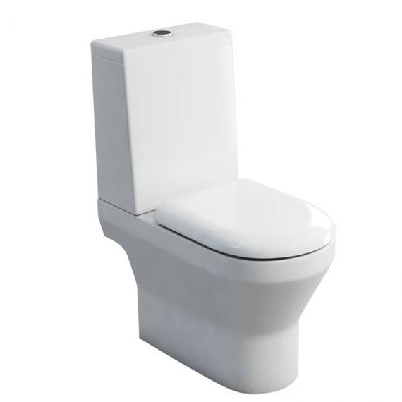 Curve Close Coupled Toilet - Standard Cistern