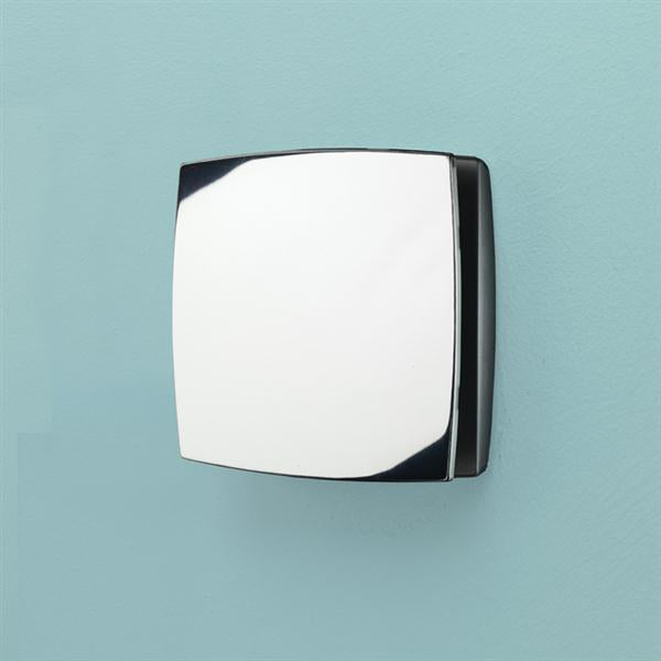 Breeze Wall Mounted Chrome - Timer & Humidity