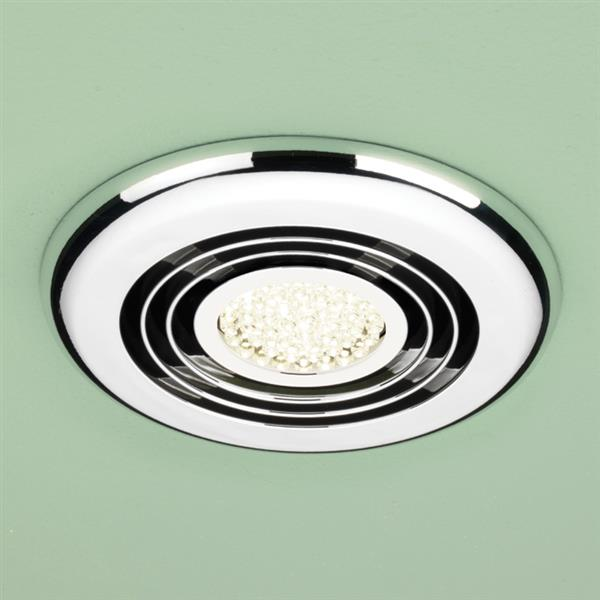 Cyclone Warm White LED - Chrome