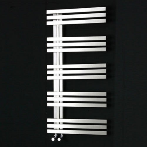Rizano Designer Heated Stainless Steel Towel Rail