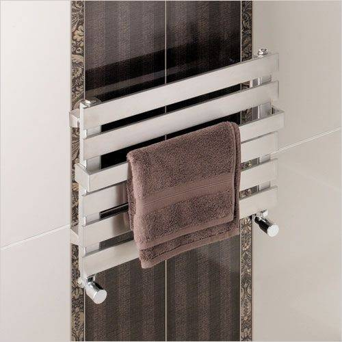 Ascona Designer Heated Stainless Steel Towel Rail