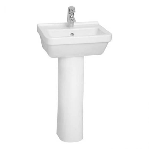 S50 Square Wash Basin & Full Pedestal
