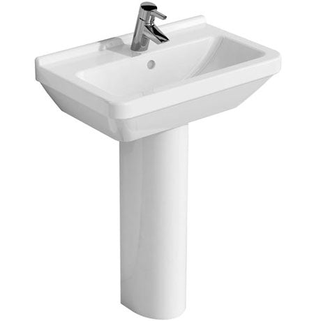 S50 Compact Basin & Full Pedestal