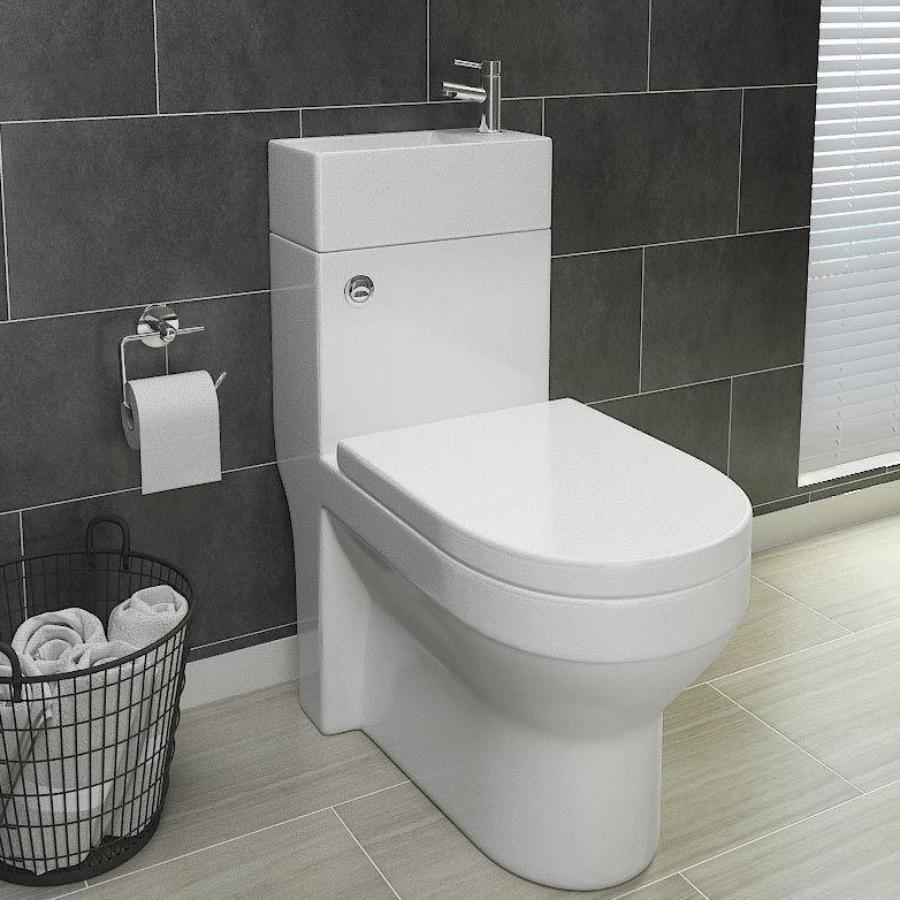 2 in 1 Combination WC & Basin