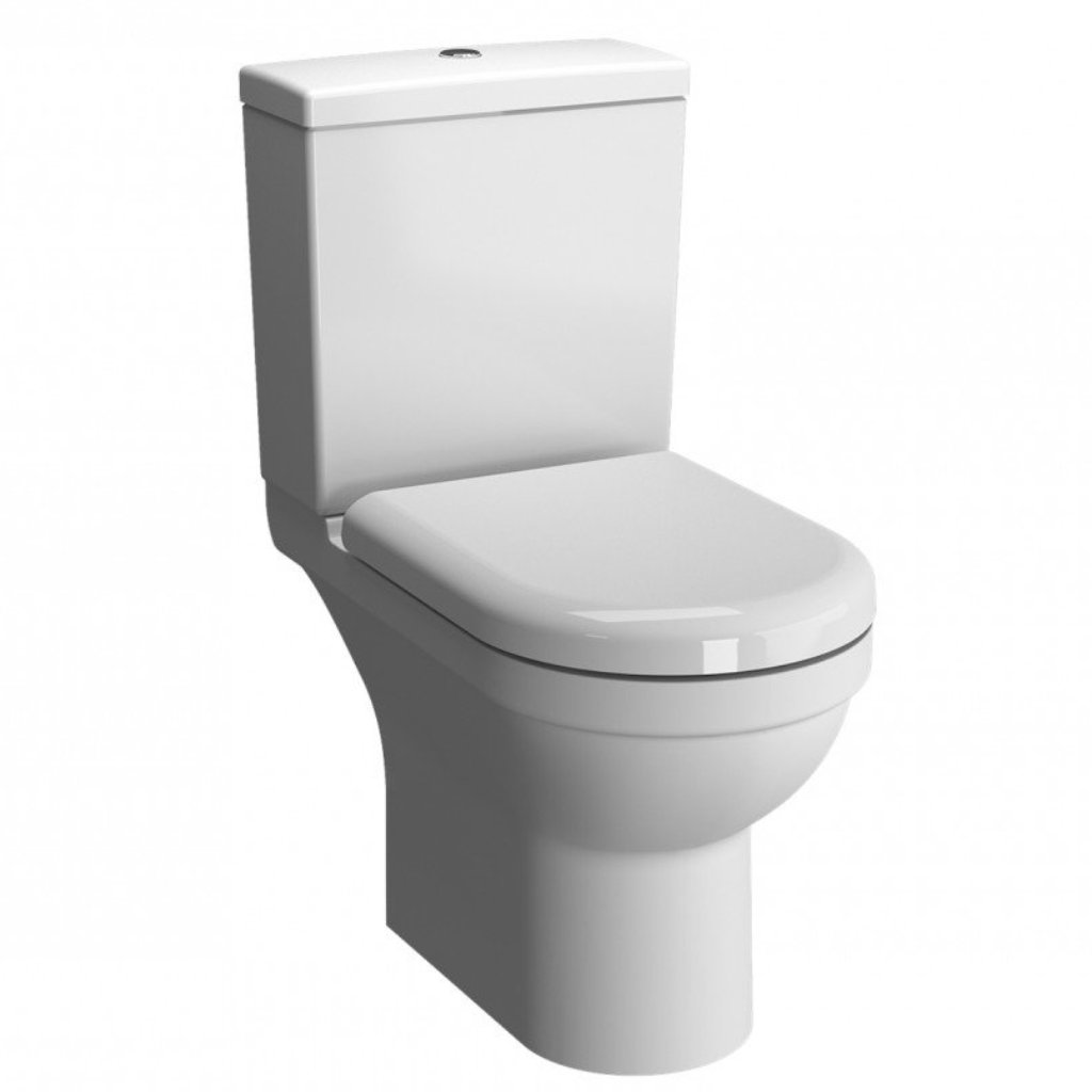 S50 Close Coupled Toilet (Rimless)