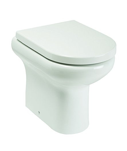 Compact Rimless Tall Back to Wall Pan