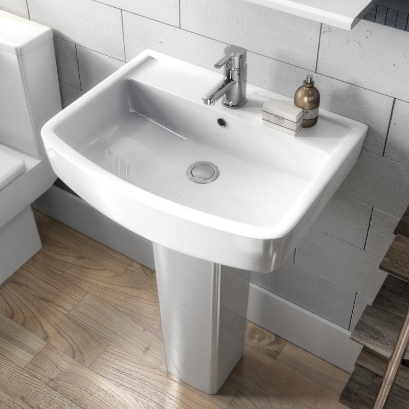 Bliss Basin & Full Pedestal