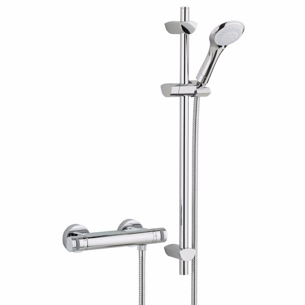Artisan Thermostatic Exposed Bar Valve & Shower Kit