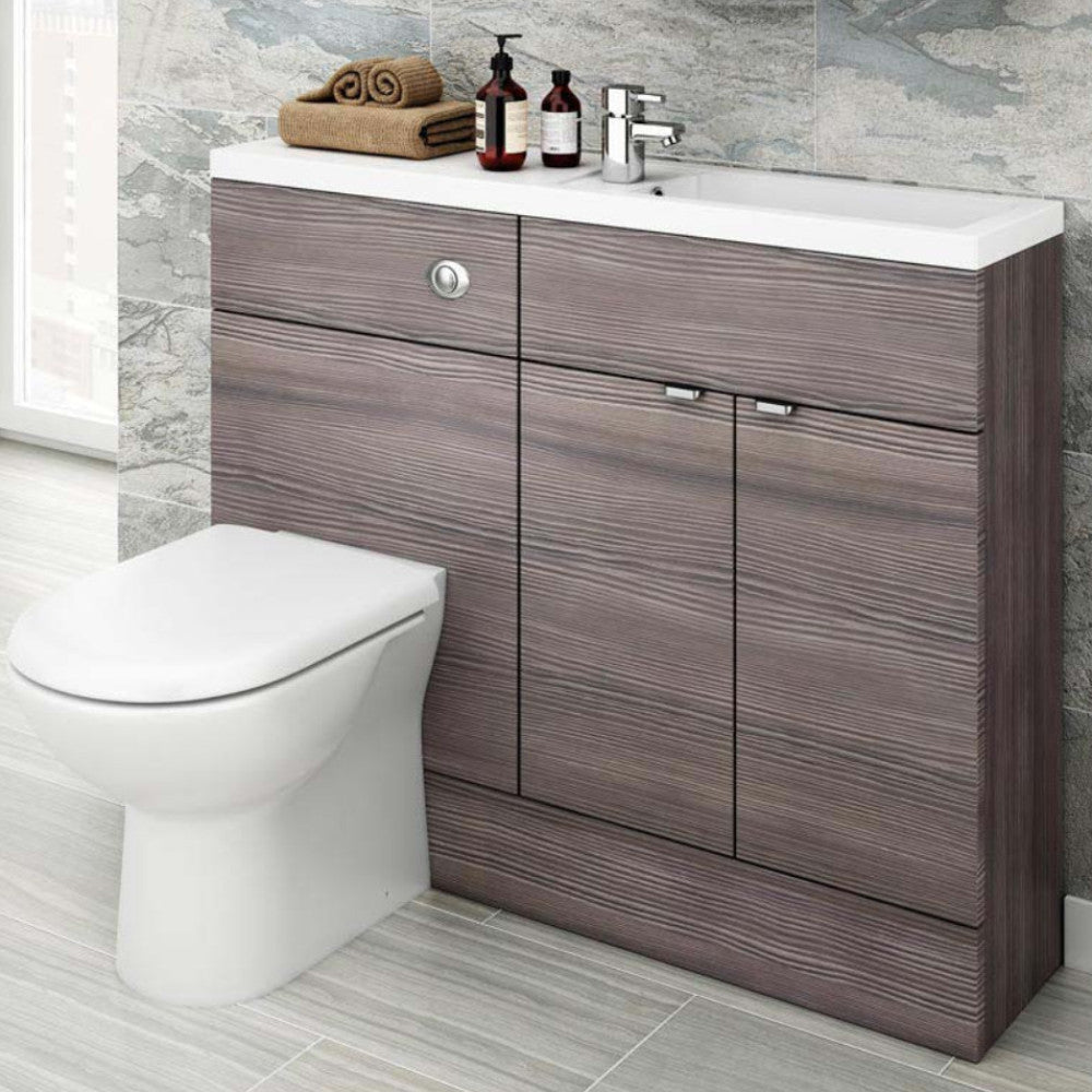 Fusion Slimline 1100mm Combination Vanity Unit & Basin
