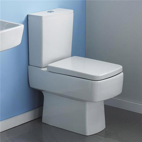 Bliss Semi Flush to Wall Compact Toilet