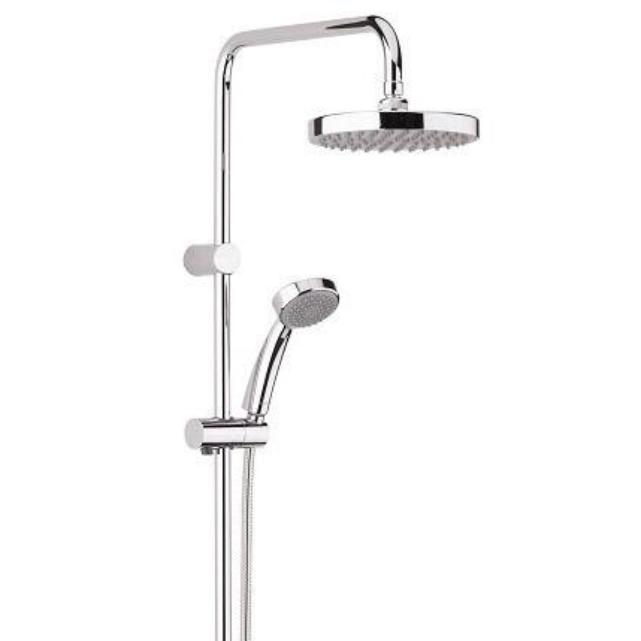 Carre Thermostatic Exposed Bar Valve & Shower Kit