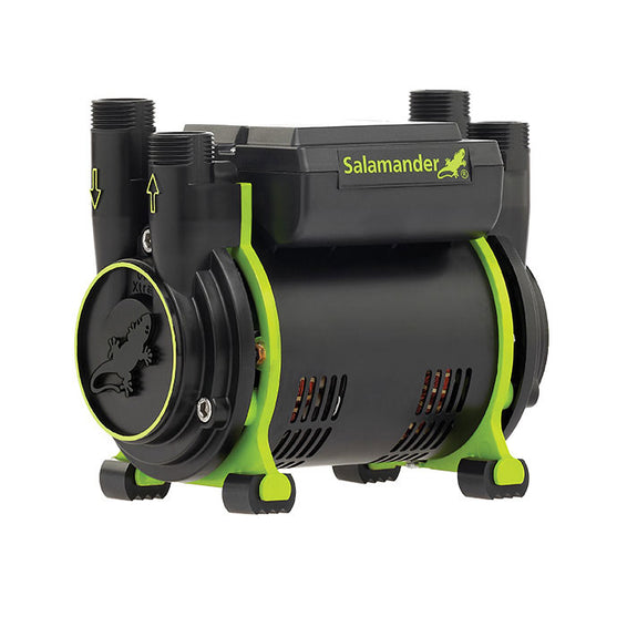 Salamander CT75+ Xtra 1.5 Bar Positive Head Twin Shower Pump
