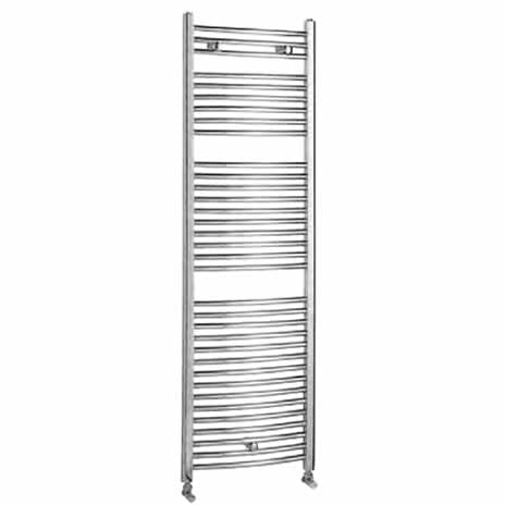 Chrome Luxury Curved Towel Rail