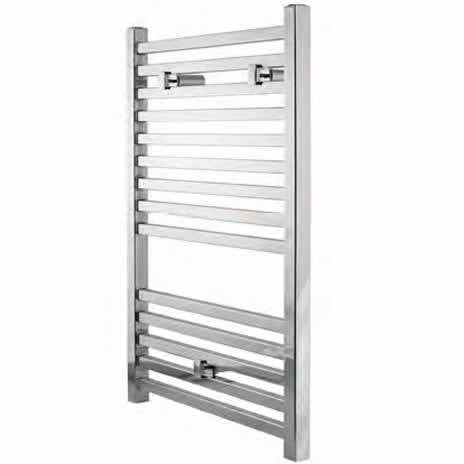 Cubic Chrome Towel Rail