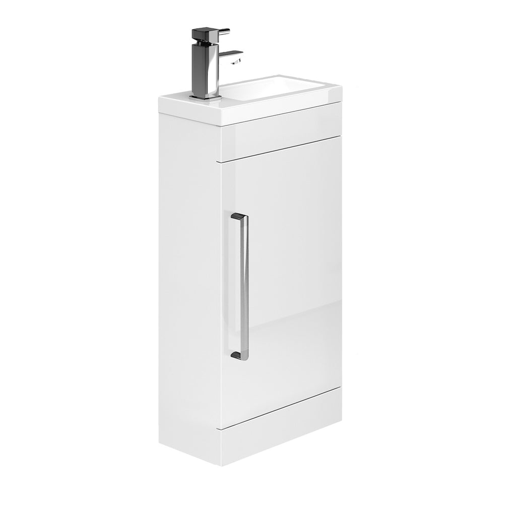 Carrs Floor Standing Cloakroom Vanity Unit & Basin