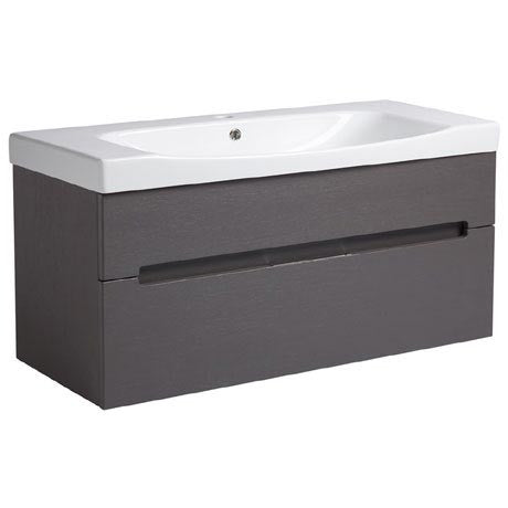 Diverge 1000mm Wall Hung Unit & Basin
