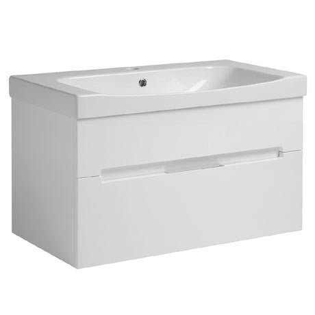 Diverge 800mm Wall Hung Unit & Basin