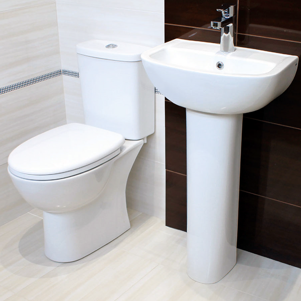 Club Short Projection Design Toilet & Basin Pack
