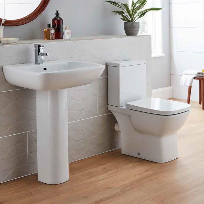 Evoque P Shape Bathroom Suite (RRP £802)