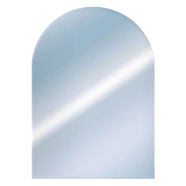 Round Top Bevelled Mirror
