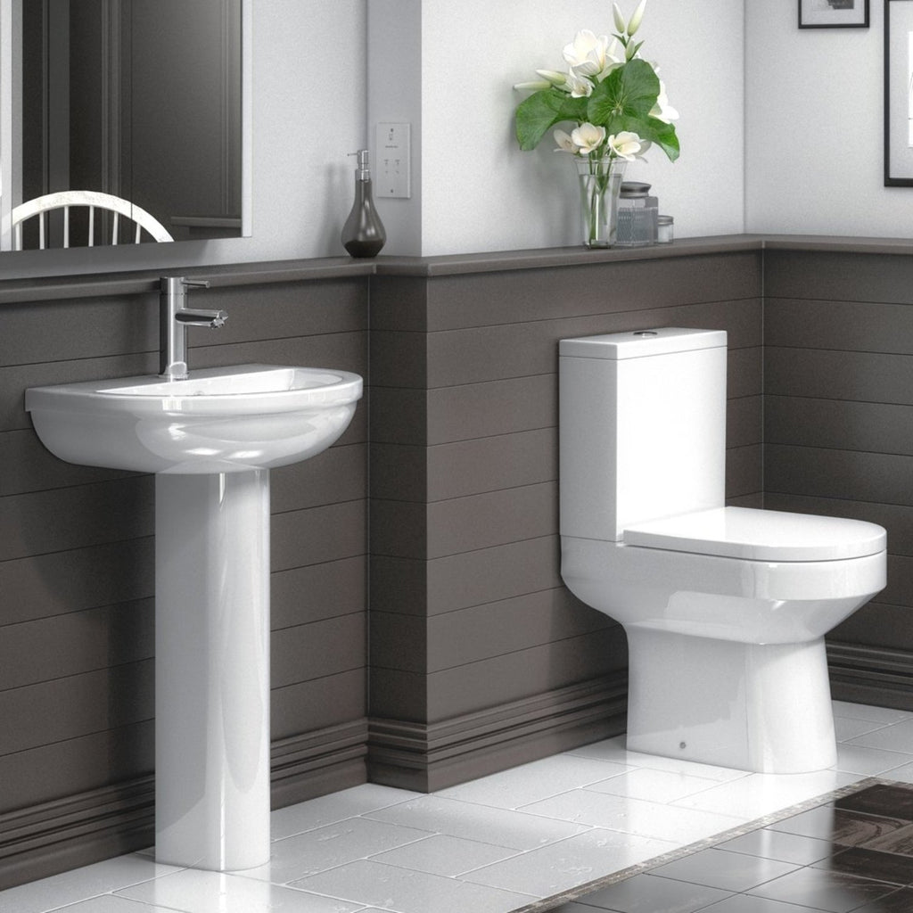 Harmony P Shape Bathroom Suite (RRP £828)