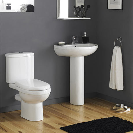 Ivo L Shape Bathroom Suite (RRP £846)