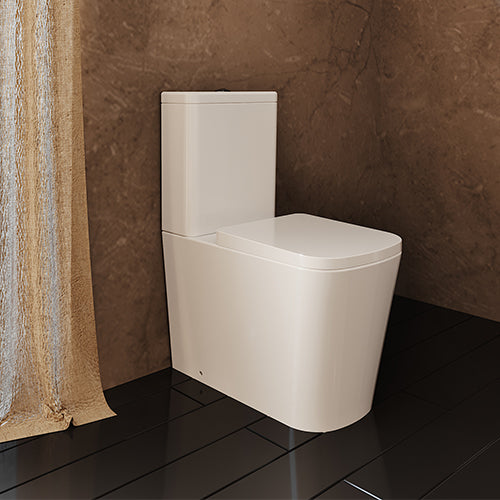 Jade Rimless Close Coupled Toilet