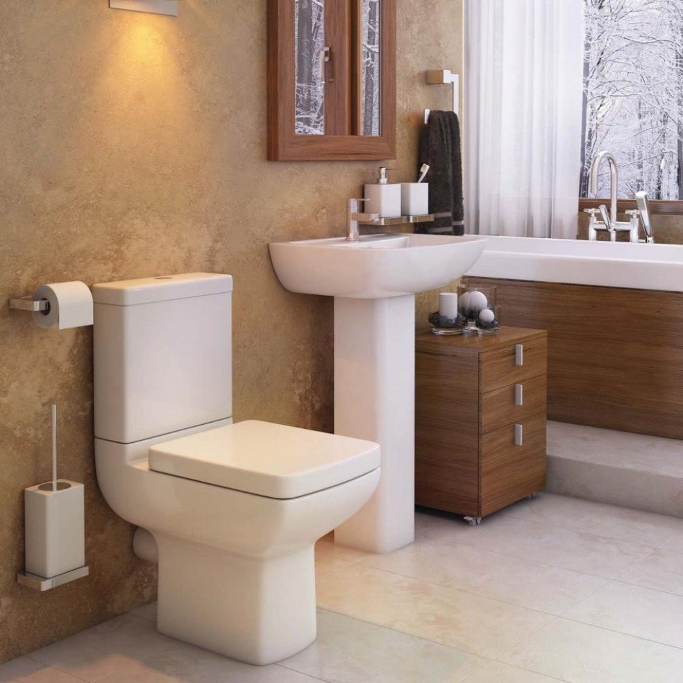 Pure Complete Bathroom Suite (RRP £750)