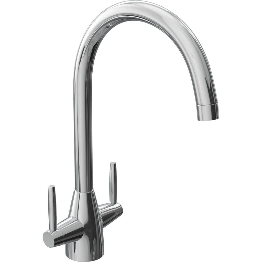 Cali Dual Lever Mono Kitchen Sink Mixer