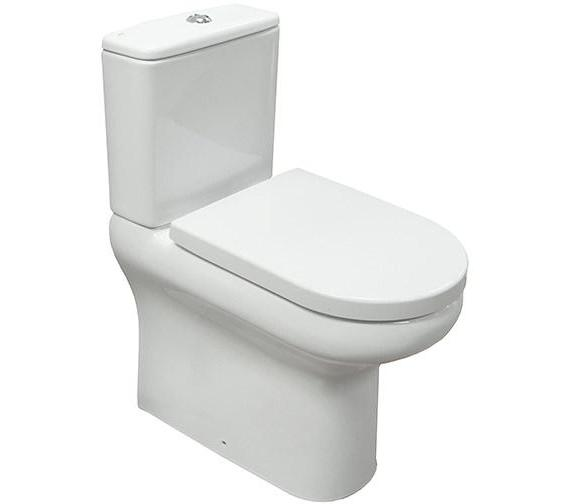 Compact Tall Flush Toilet