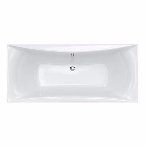 Alpha Double Ended Bath - 1700, 1800mm