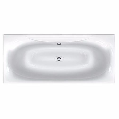 Equity Double Ended Bath, Carronite  - 1700, 1800mm