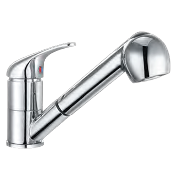 Pullout Mono Sink Mixer Chrome