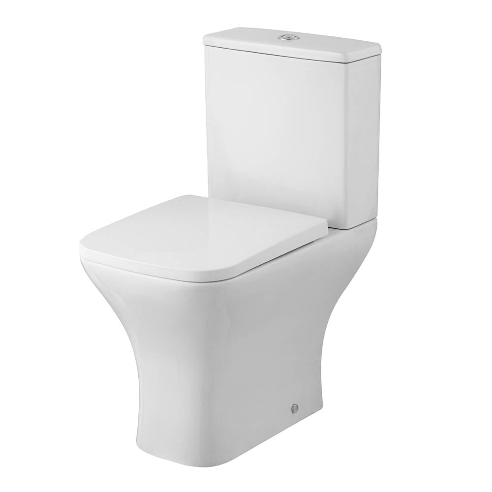 Ava Close Coupled Rimless Toilet