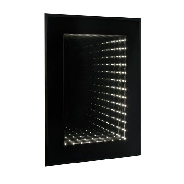 Pyramid Infinity LED Mirror