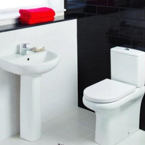 Compact Bathroom Set