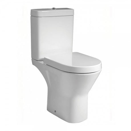 Resort Rimless Close Coupled Toilet