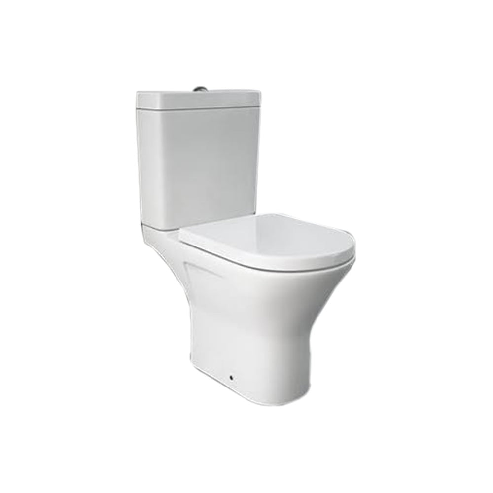 Synergy Marbella Mini Close Coupled Full Access Open Back Toilet
